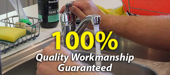 100% Quality Workmanship Guranteed on Blocked Drains
