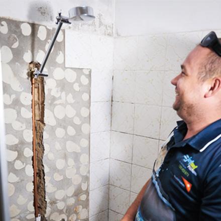 Leaking Shower Yeronga