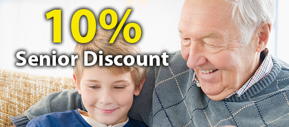 10% Senior Discount on Blocked Drains